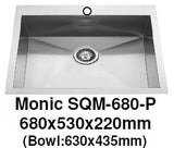 Monic SQM-680 & 680-P Kitchen Sink - Domaco