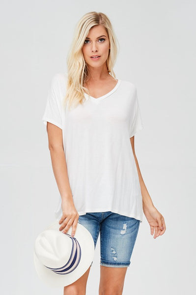 The Basic Top - Ivory  {All Sizes}