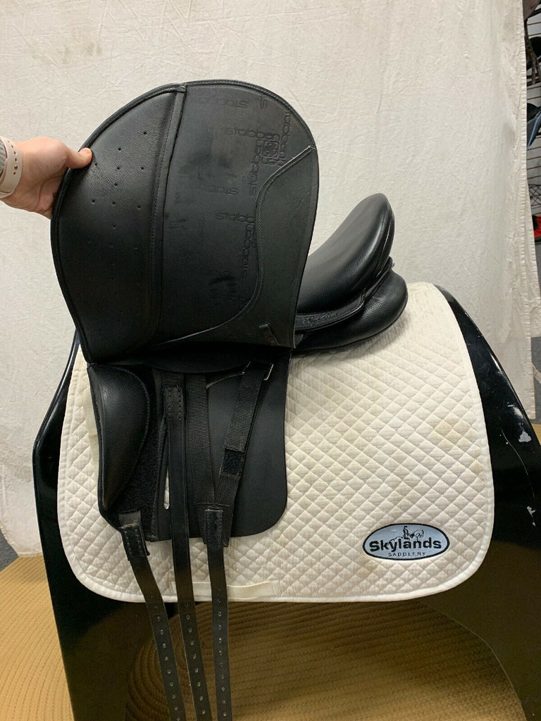 "Used Stubben Euphoria 17"" Dressage Saddle"