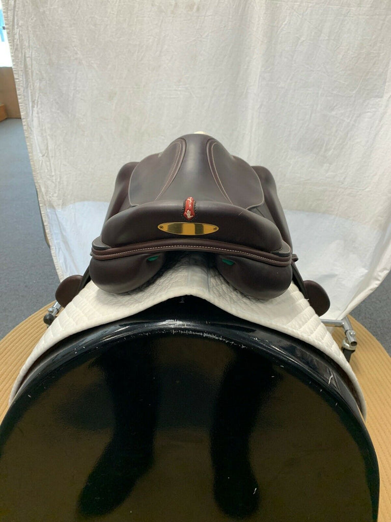 Lightly Used Demo Equipe EK26 Monoflap Jump Saddle