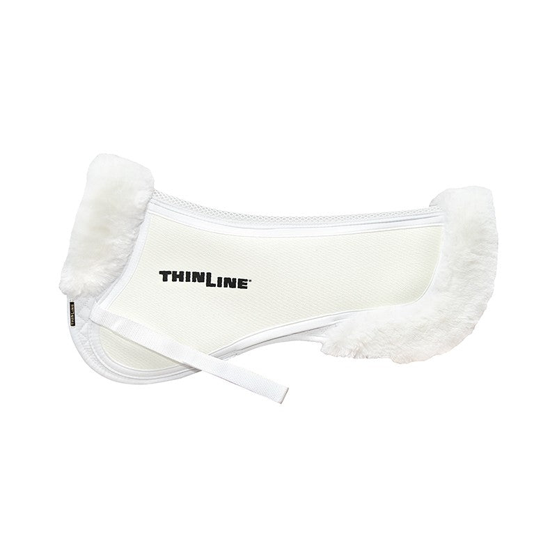 Trifecta Half Pad with Sheepskin Rolls