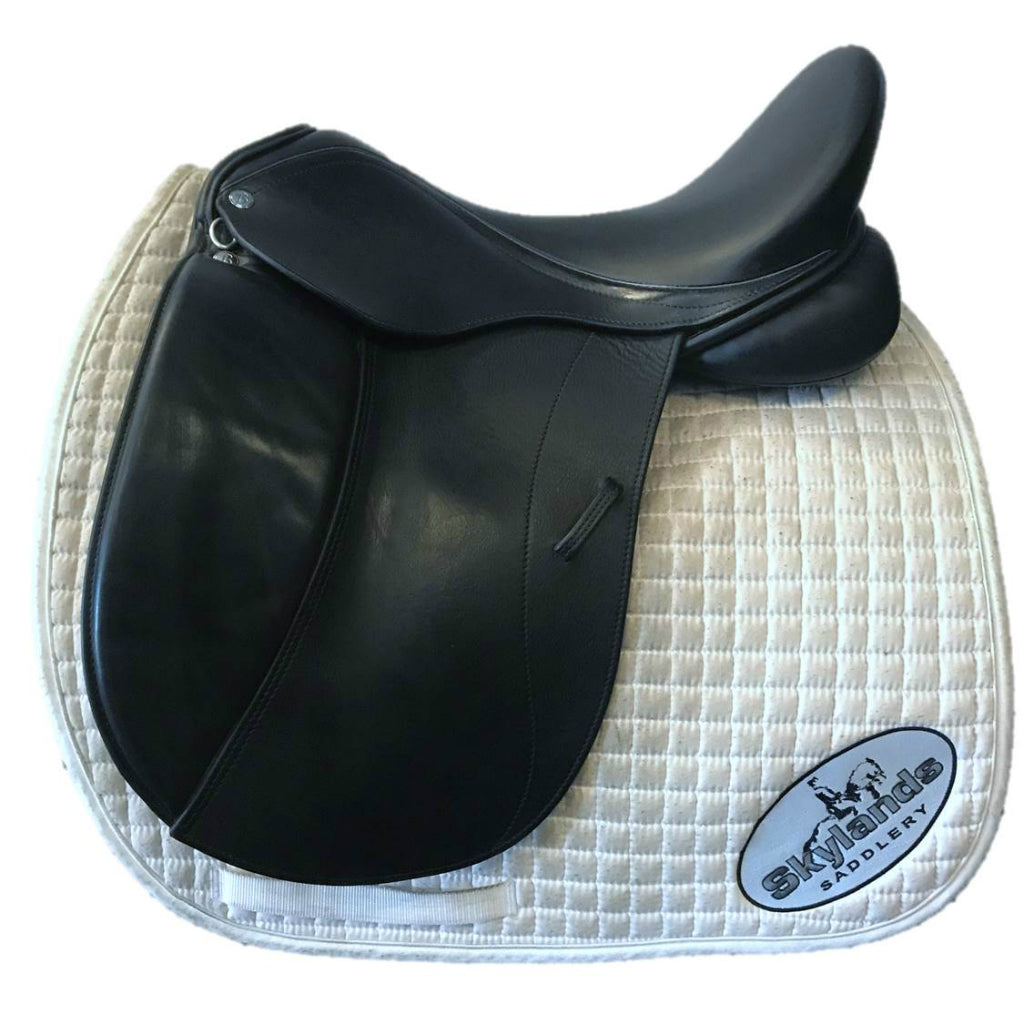 "Used Borne Ambassador 18.5"" Dressage Saddle"