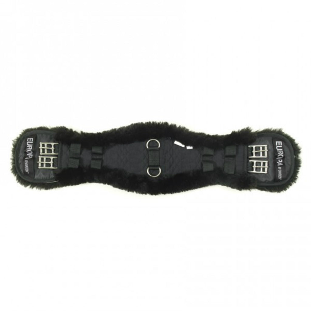Europa Sheepskin Contoured Dressage Girth