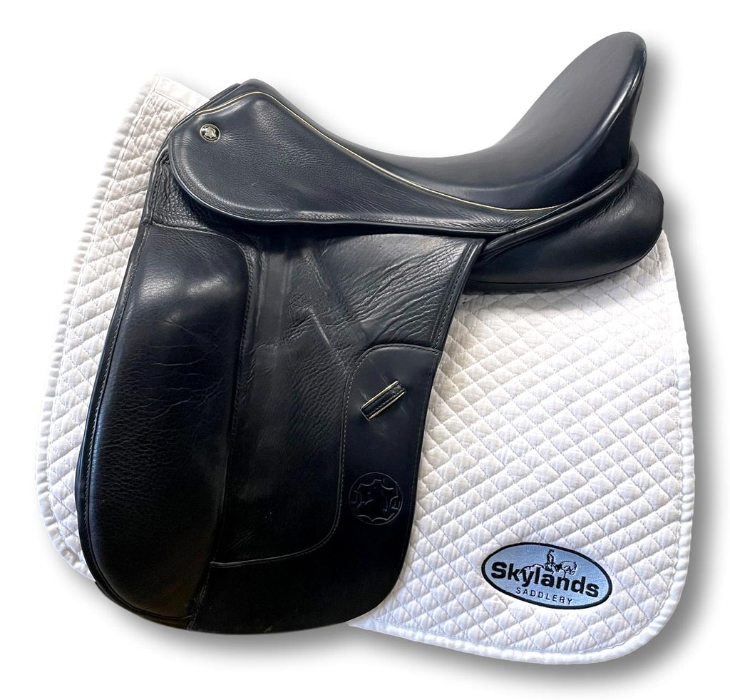 "Used Hennig Sofa 18"" Dressage Saddle"