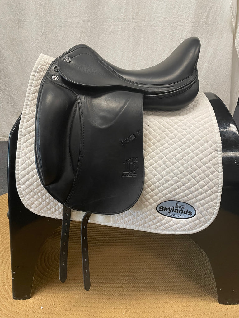 "Used Prestige D1K 17"" Dressage Saddle"