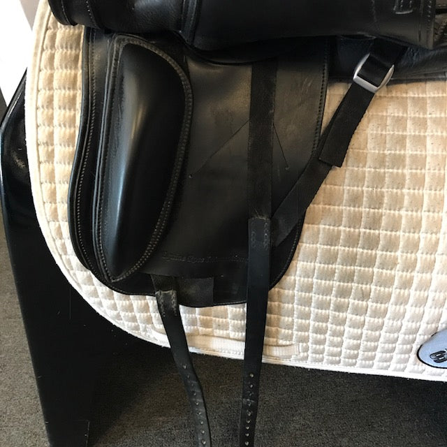 "Used Schleese HK 18"" Dressage Saddle"