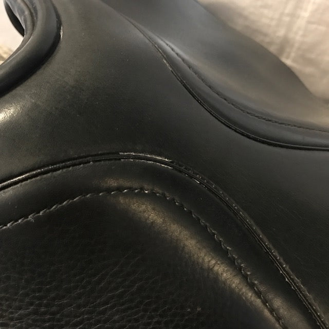 "Used Schleese Victory 17"" Dressage Saddle"