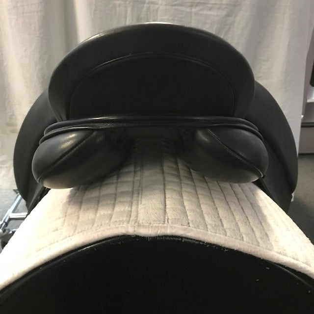 "Used Schleese Wave 17""  Dressage Saddle"