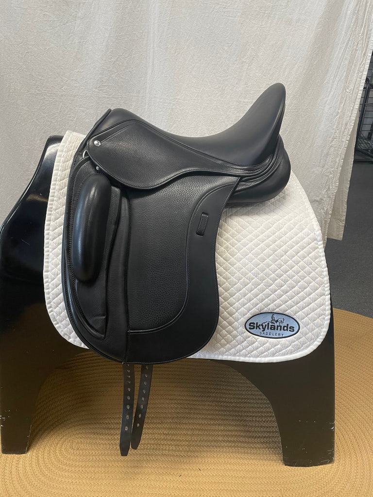 "Demo Schleese Prolight Plus 17.5"" Monoflap Dressage Saddle"