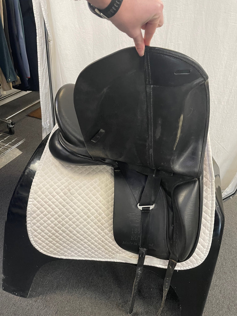 "Used Trilogy Verago Elite 18.5"" Dressage Saddle"