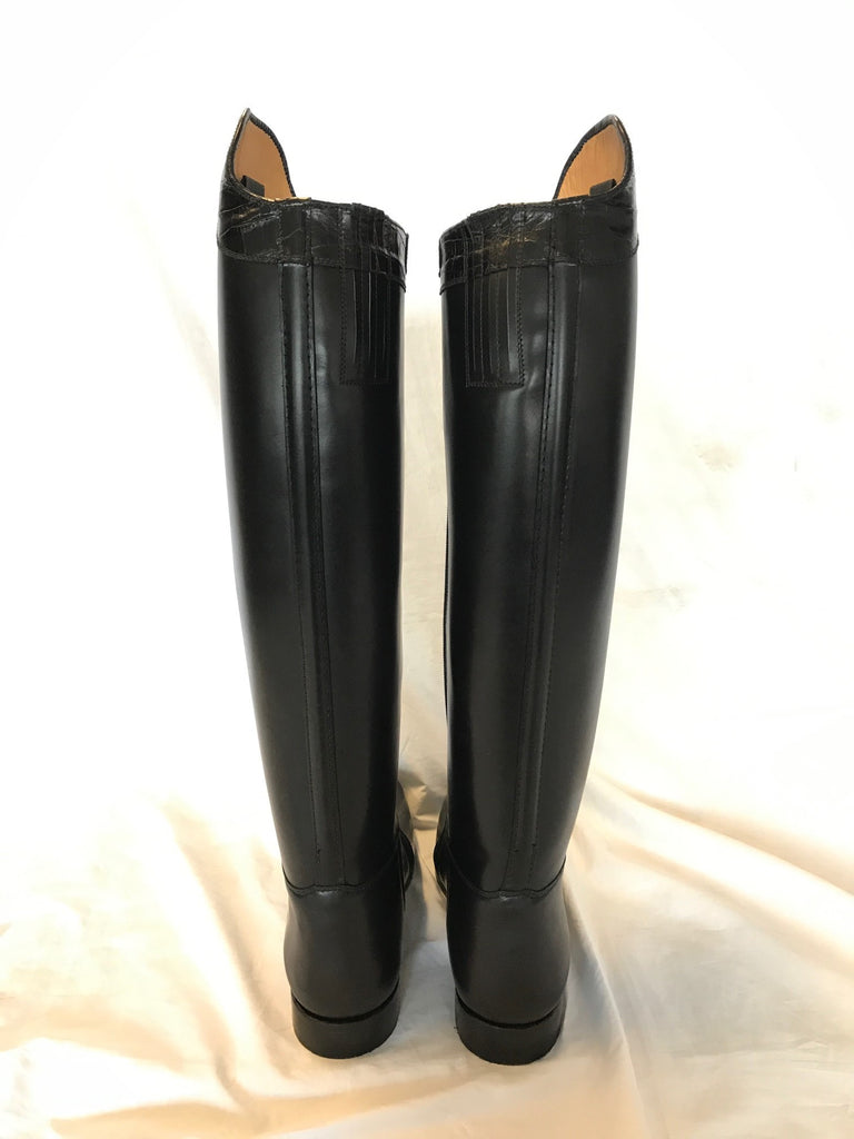Lady Dressage Boots with Croc Top - US Size 9