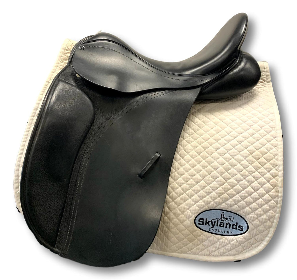 "HOLD:  Used County Connection 17.5"" Dressage Saddle"