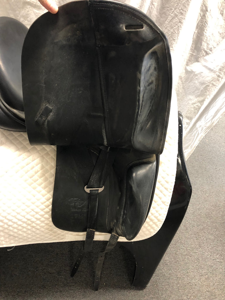 "Used Trilogy Verago Elite 17.5"" Dressage Saddle"