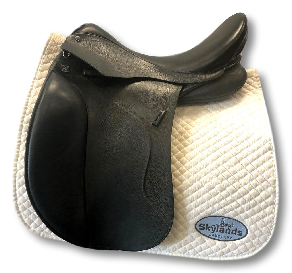 "Used Stubben Euphoria 17.5"" Dressage Saddle"