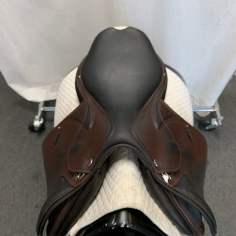 "Used Prestige X-Meredith 17"" Jump Saddle 34cm"