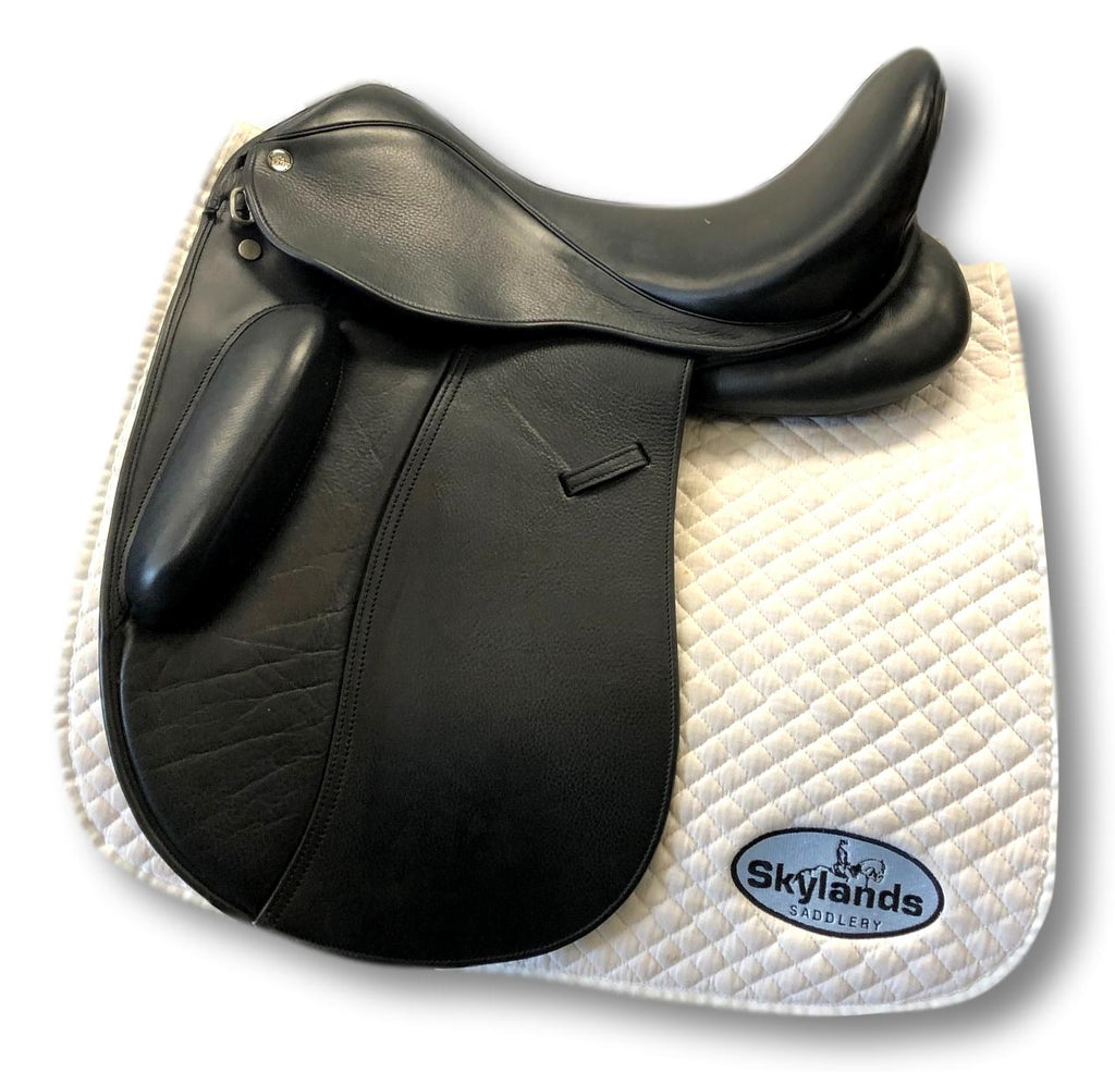 "Used Tempi 1 17.5"" Dressage Saddle"