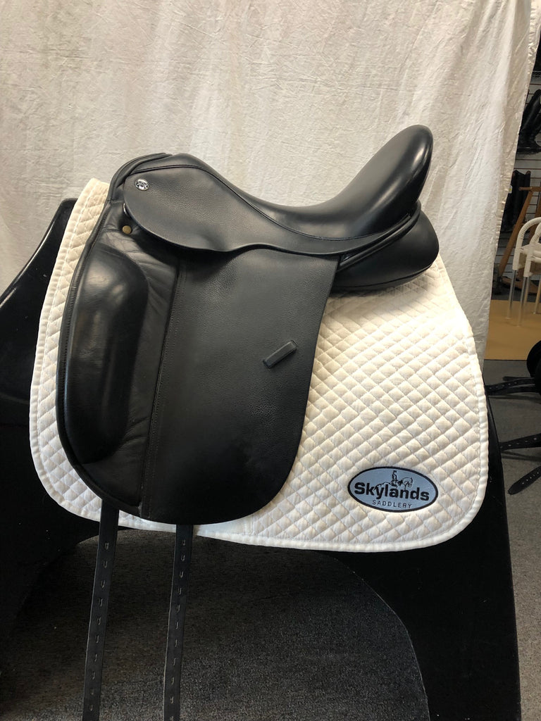 "Used Trilogy Amadeo Elite 17.5"" Dressage Saddle"