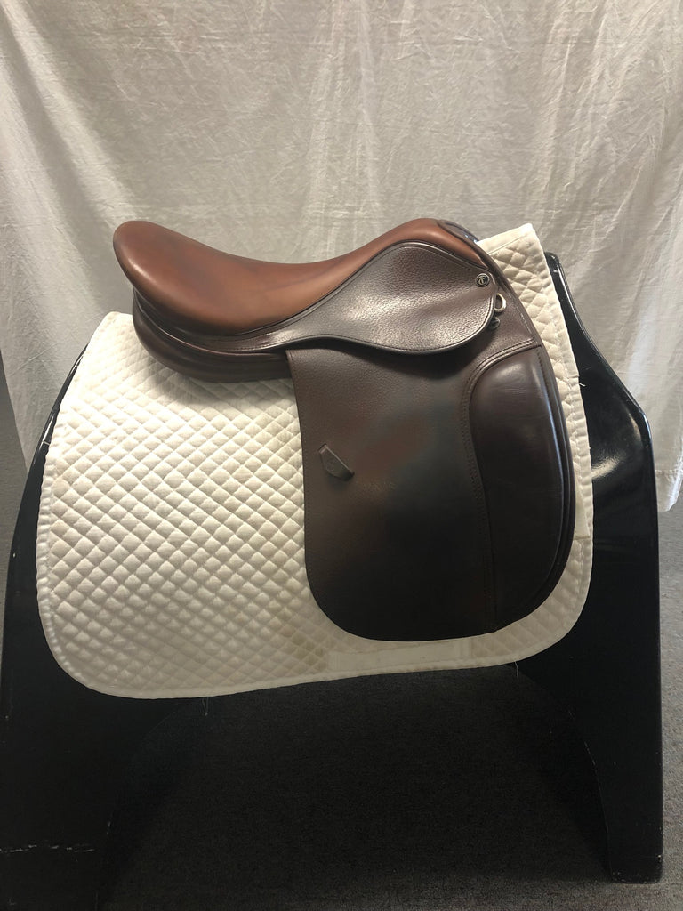 Used Tad Coffin CCD5SR Dressage Saddle 17.5""