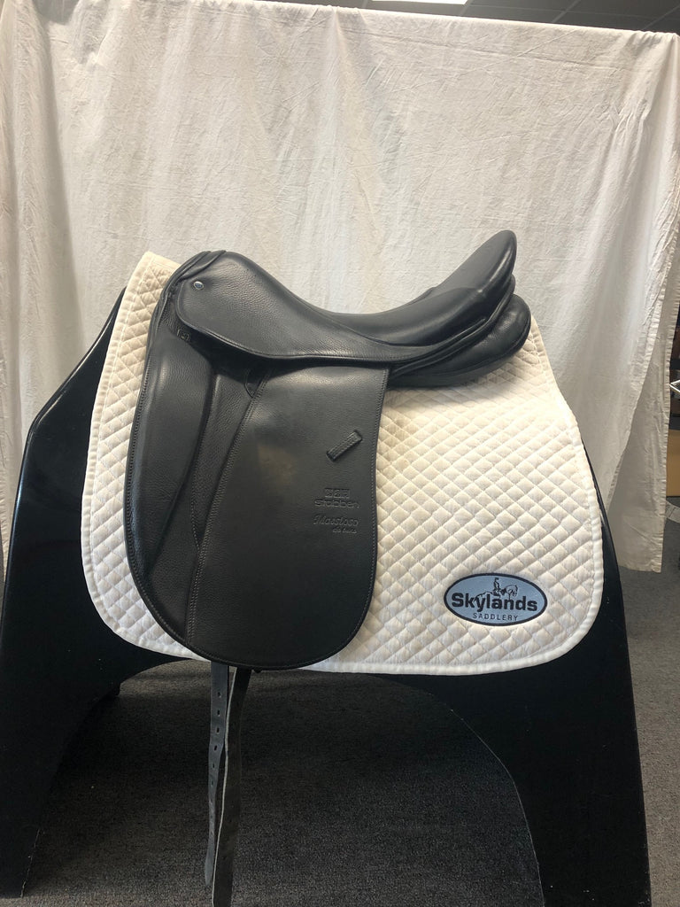 Used Stubben Maestoso Dressage Saddle with Biomex Seat 17.5""