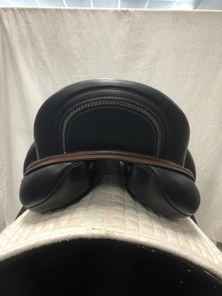 "Used MacRider Challenge 17.5"" Dressage Saddle"