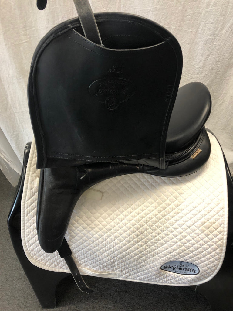 "Used MacRider Arlando  17.5"" Dressage Saddle"