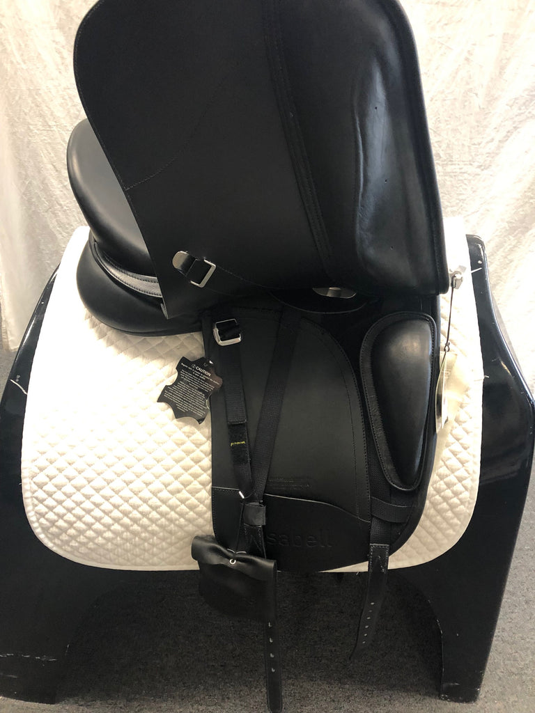 "Pre-Owned Bates Isabell Luxe 17.5"" Dressage Saddle"