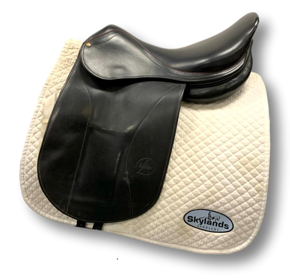 "Used Barbier Dominique 18"" Dressage Saddle"
