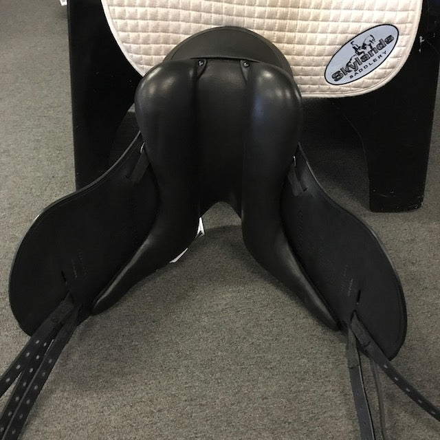"Demo Schleese Obrigado 17"" Monoflap Dressage Saddle"