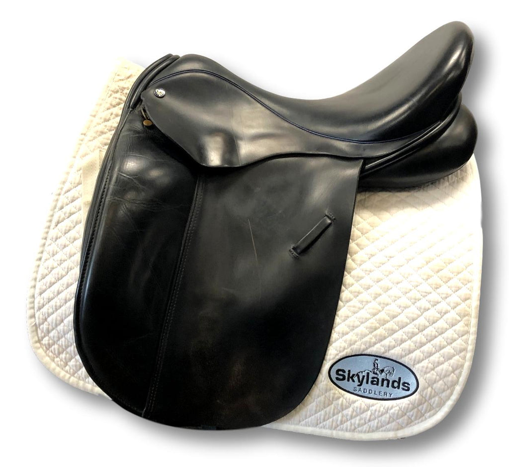 "Used Detente 18"" Dressage Saddle"