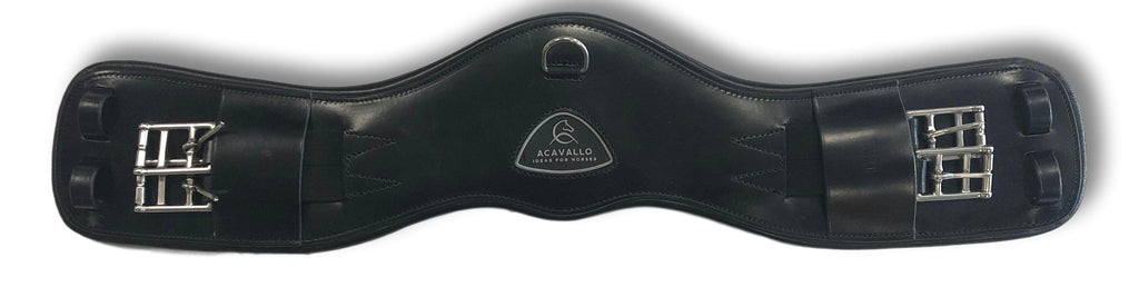 Leather Girth with Gel Insert