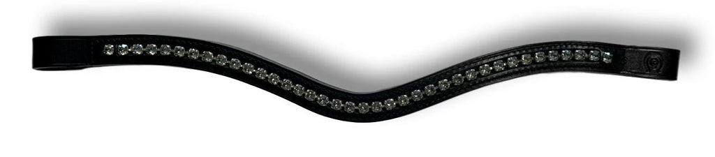 Tiffany Curved Crystal Browband