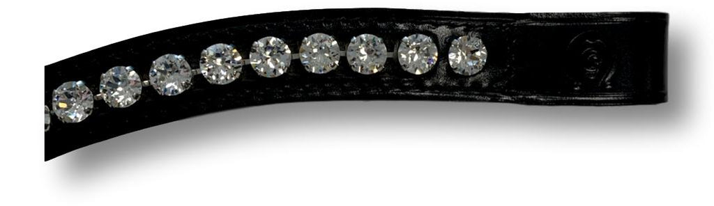 Curved XL Crystal Shade Browband