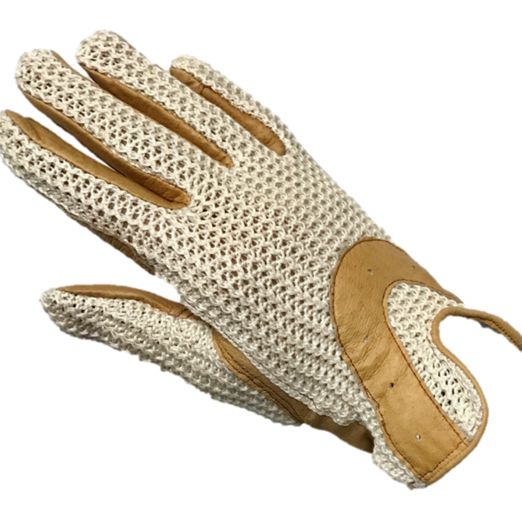 Crochet Back Riding Gloves