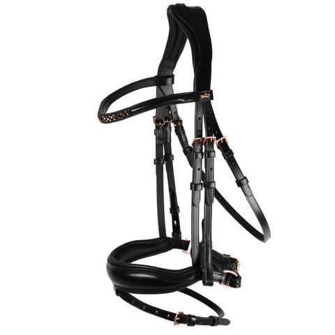 Fremont Anatomical Leather Halter