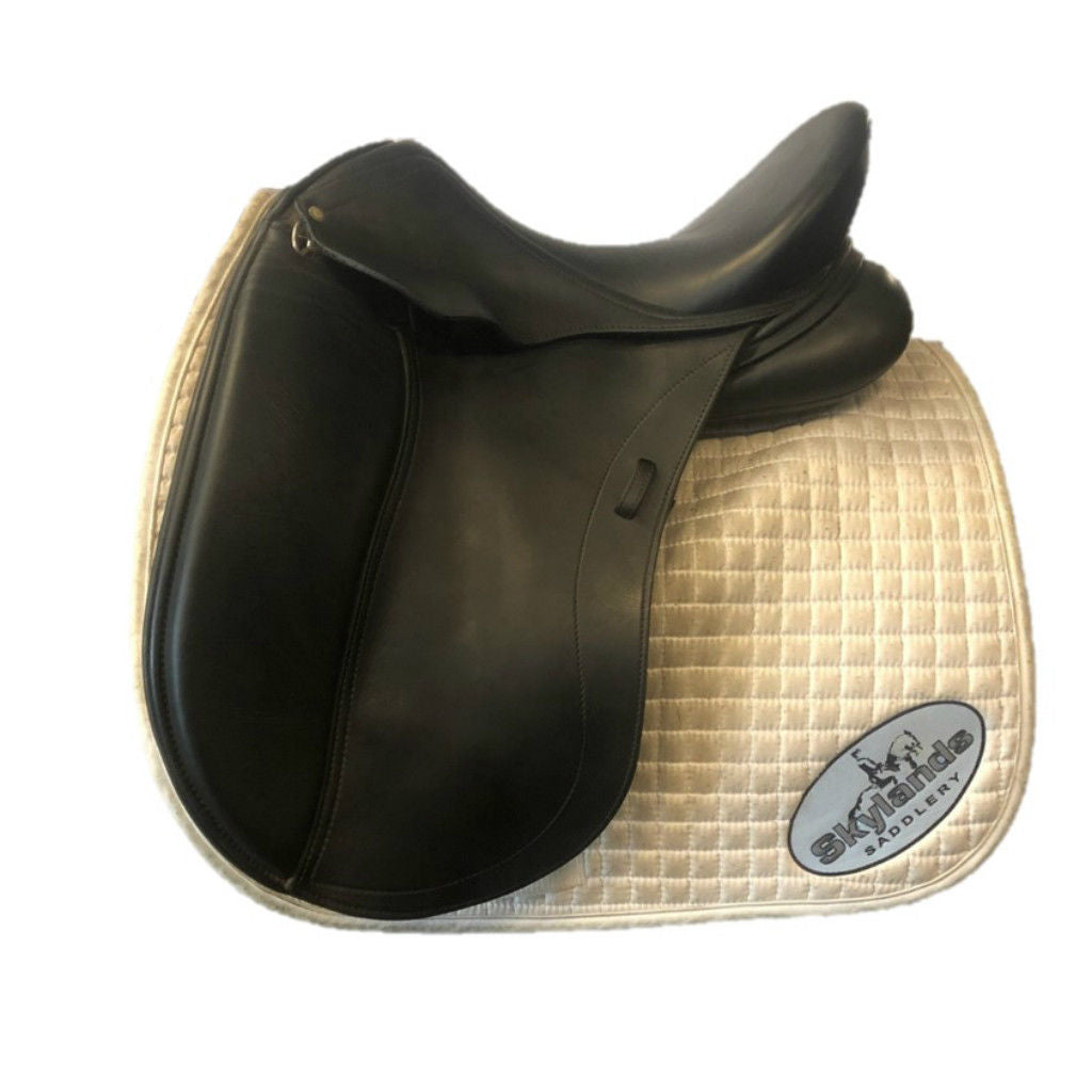 "Used Schleese HK 17.5"" Dressage Saddle"