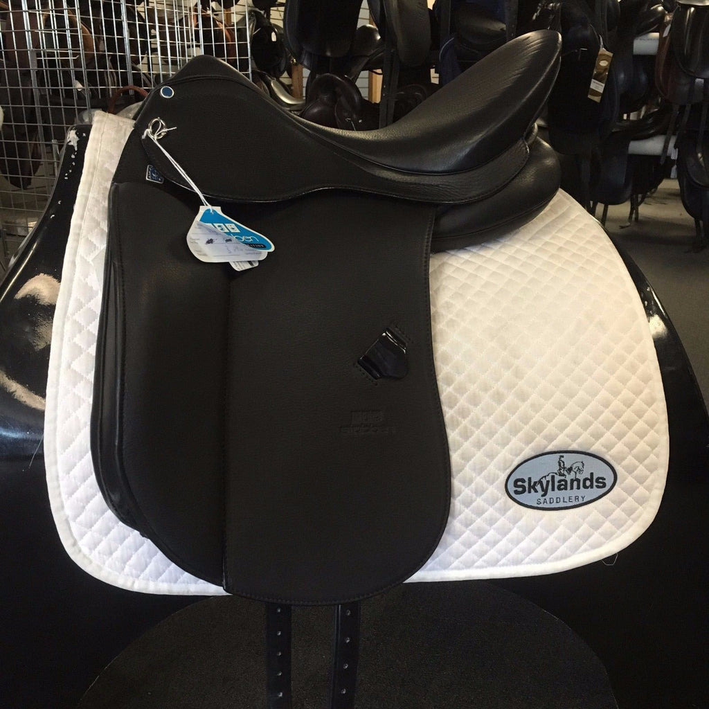 "HOLD:  Demo 1894 17.5"" Dressage Saddle"