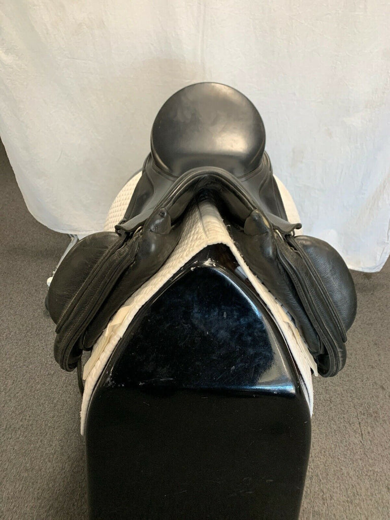 "HOLD: Used Schleese Triumph 17"" Dressage Saddle"