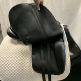Used Stubben Genesis Deluxe with Biomex Dressage Saddle - Size 17.5