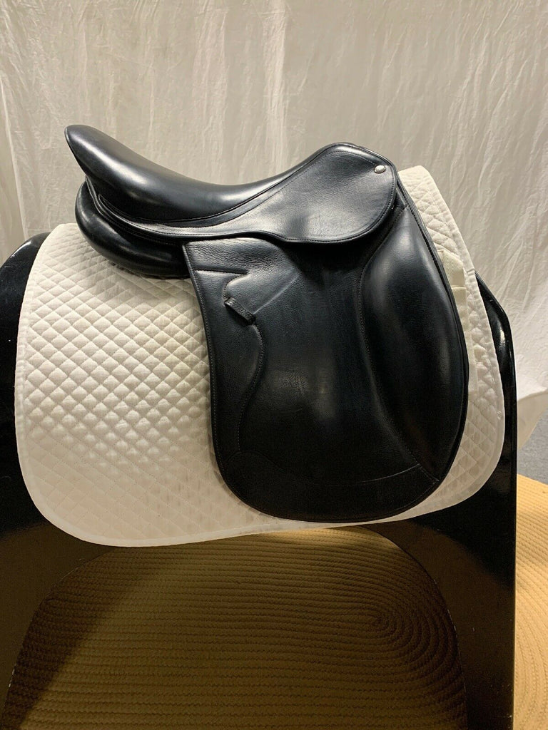 "HOLD: Used Forestier 17"" Dressage Saddle"
