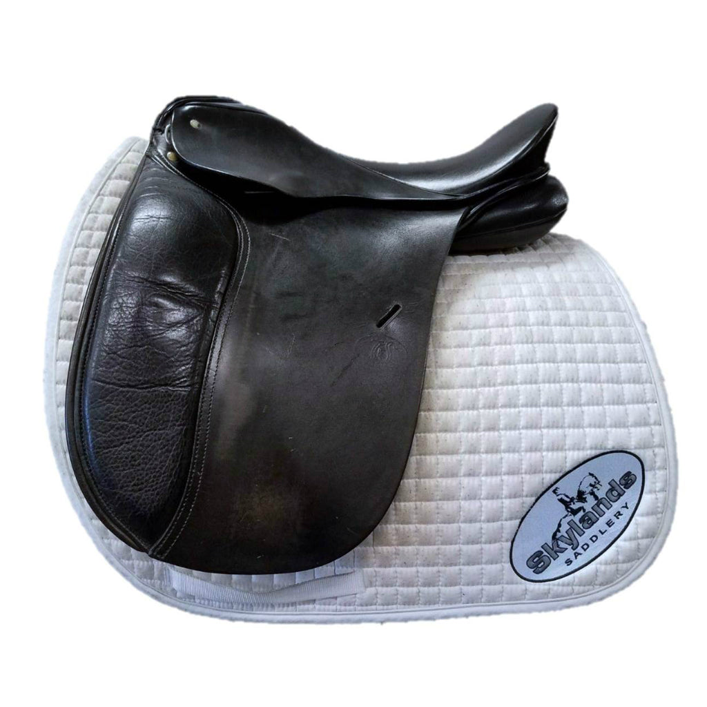 "Used Schleese JES Advanced 17.5"" Dressage Saddle"