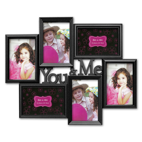 You & Me 6-in-1 Photo Frame
