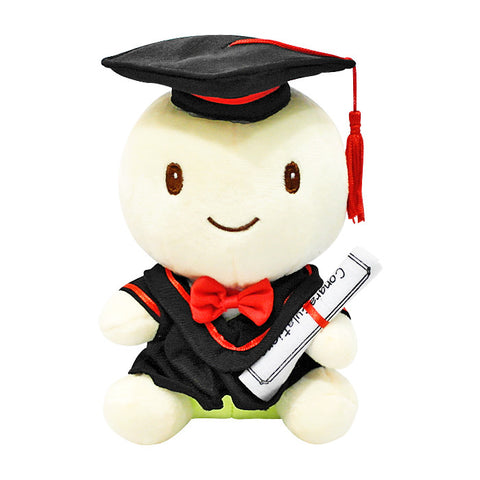 Graduation Tortoise Boy Plush
