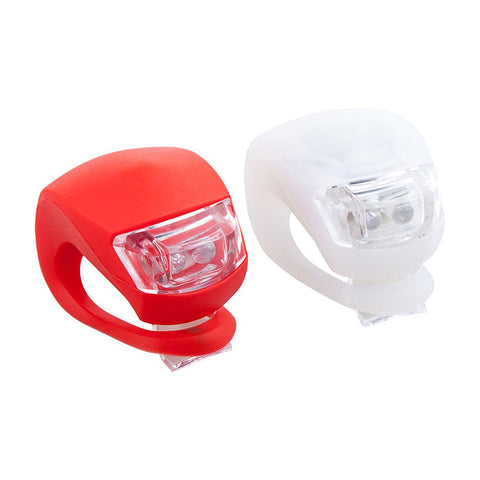 Flexible Silicone Band Bicycle Light 2-in-1