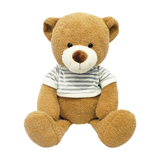 Bear with Stripes Tee Plush