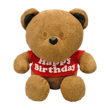 "Bear with ""Happy Birthday"" Tee Plush"