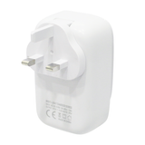 4 USB Travel Adapter with Light