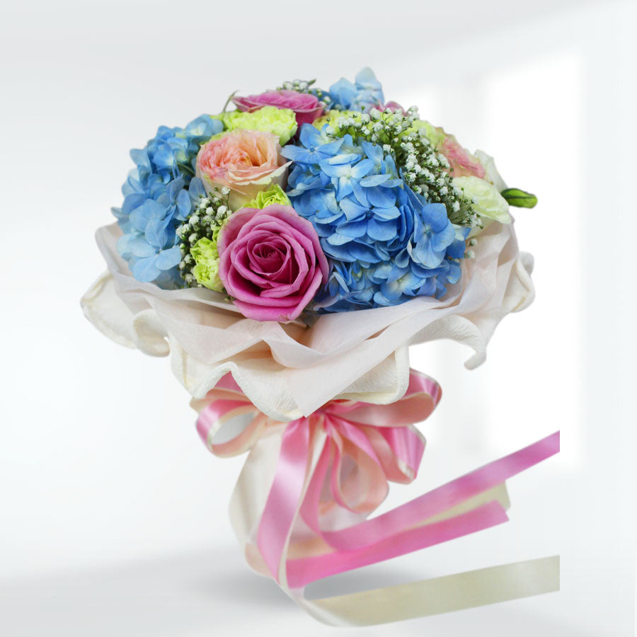 """All Bright"" Flower Arrangement - April Flora"