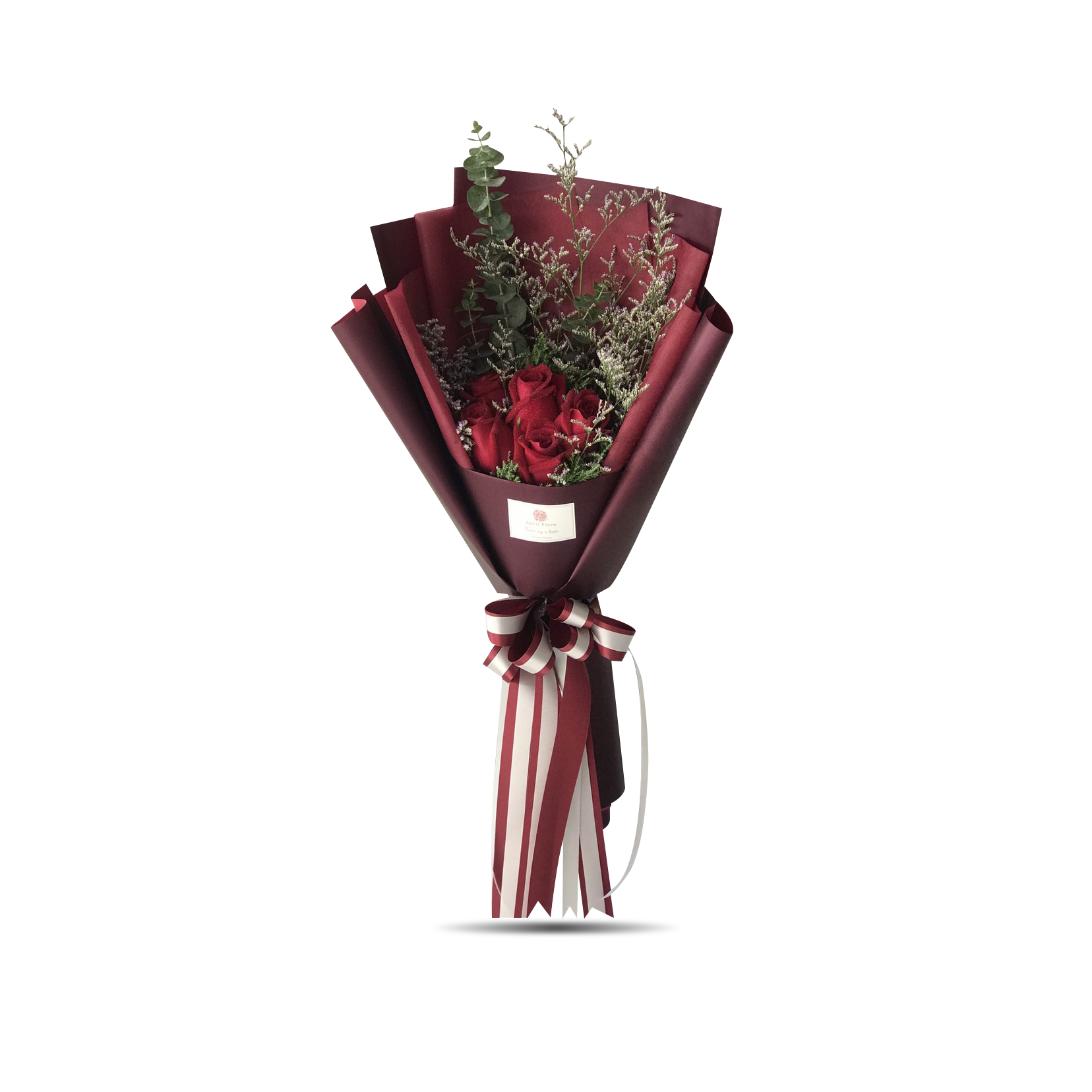"""Red Love"" bouquet of 5 red roses"