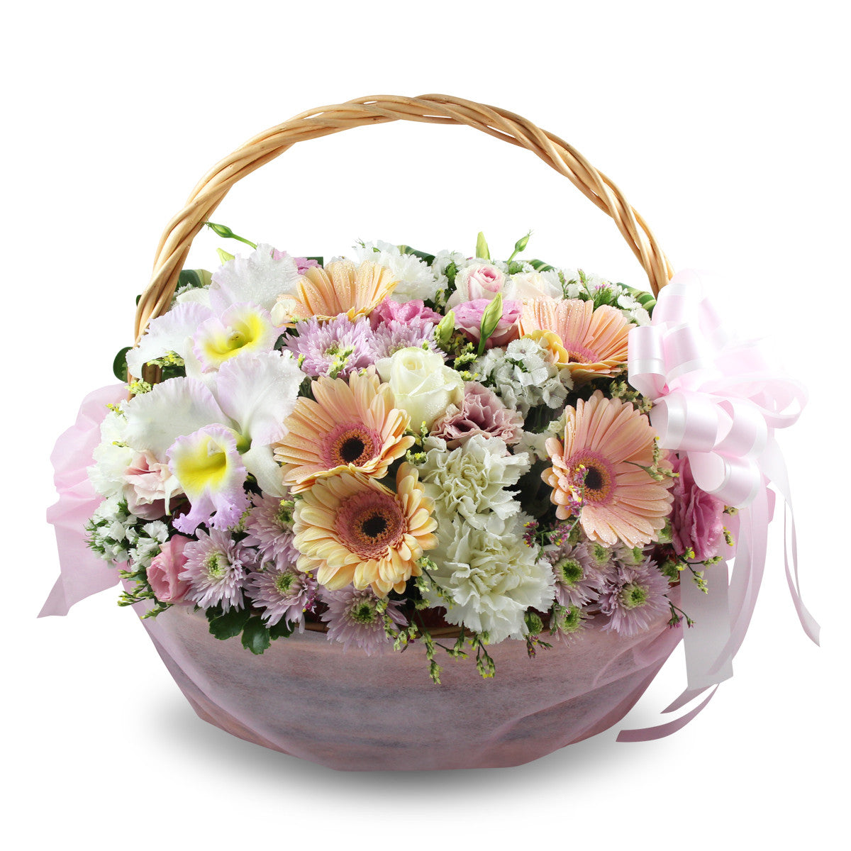 Premium Basket Of Flowers - April Flora
