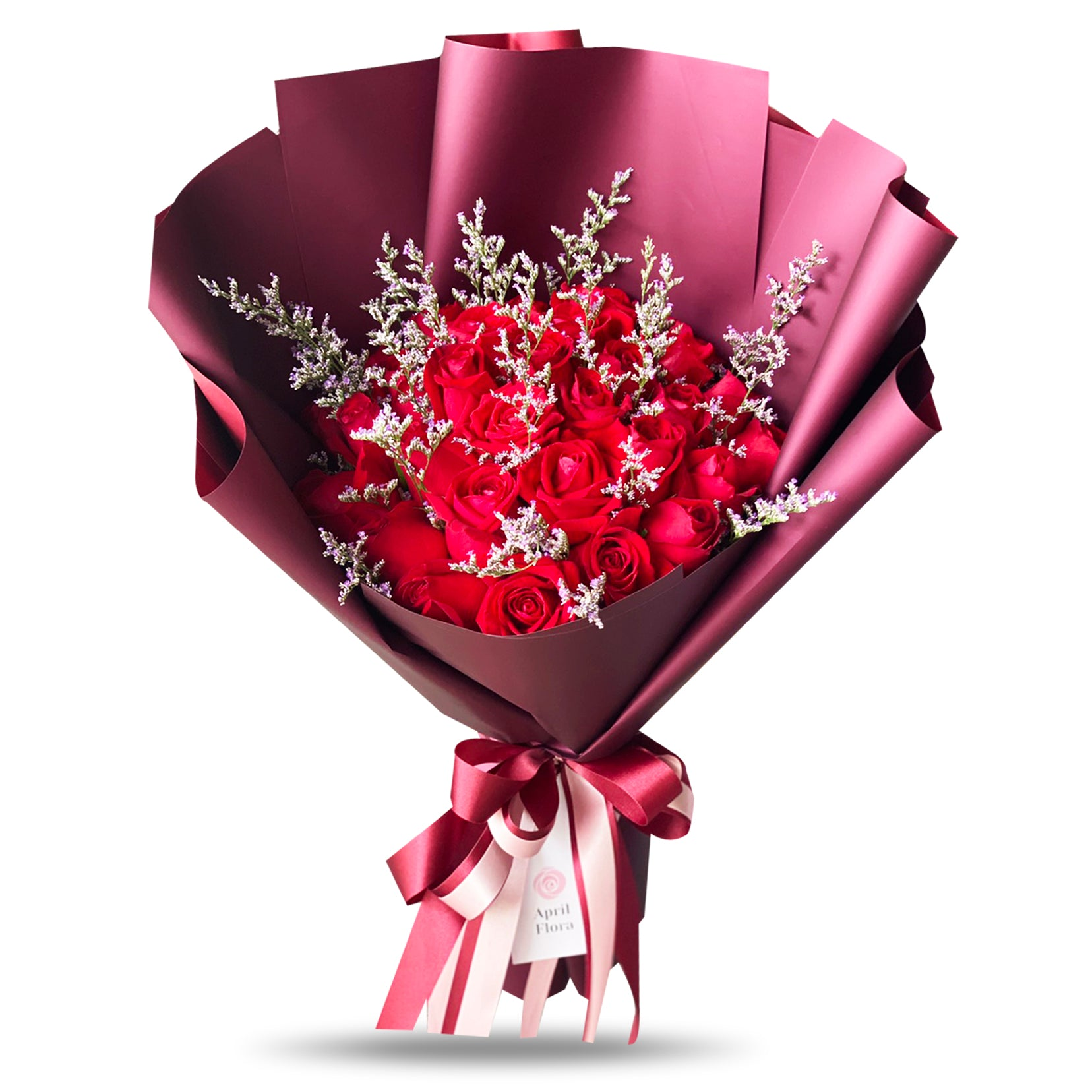 """My Heart"" Large Bouquet Of 30 Red Roses"